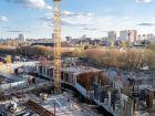 Ход строительства дома № 2 в ЖК Книги - фото 8, Апрель 2021