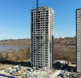 Ход строительства дома № 4 в ЖК Аквамарин -