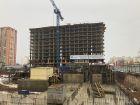 Ход строительства дома Литер 1 в ЖК Династия - фото 41, Ноябрь 2018