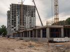 Ход строительства дома № 2 в ЖК Заречье - фото 16, Июнь 2021