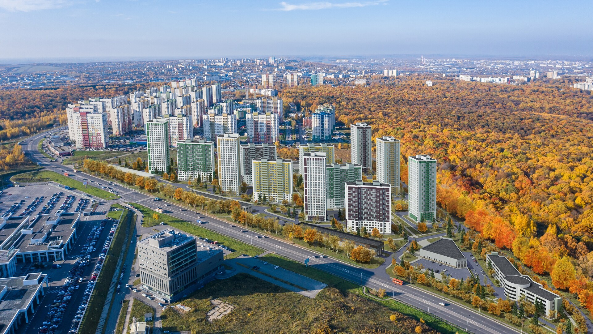 Жилой комплекс (ЖК) «Цветы-2» в Нижнем Новгороде - фото 1