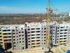 Ход строительства дома на участке № 214 в ЖК Солнечный город - фото 58, Апрель 2018