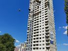 НЕБО на Ленинском, 215В - ход строительства, фото 3, Август 2020
