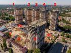 Ход строительства дома Литер 1 в ЖК Звезда Столицы - фото 13, Июль 2020