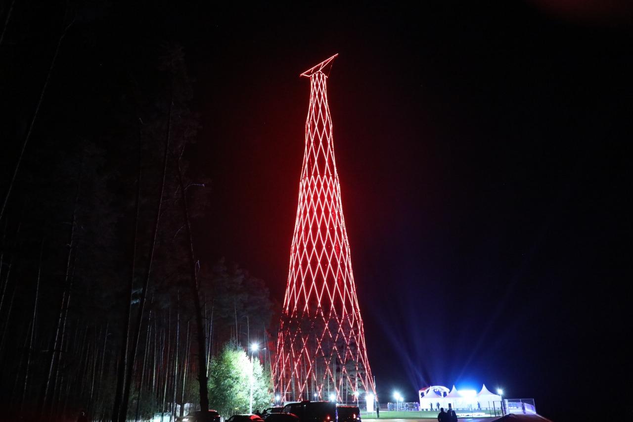 Обновленная Шуховская башня открылась в Дзержинске - фото 1
