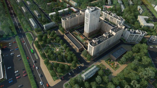 Дом 60/3 в ЖК Москва Град - фото 1