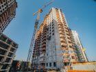 Ход строительства дома Секция 1 в ЖК Гвардейский 3.0 - фото 5, Август 2021