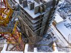 Ход строительства дома Литер 1 в ЖК Первый - фото 142, Январь 2018