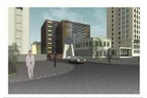 Административное здание смногоуровневым паркингом наул.Новая - фото 1