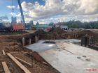 Ход строительства дома № 1 в ЖК Дом на Набережной - фото 34, Сентябрь 2020