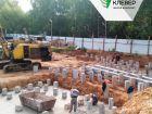 Ход строительства дома № 1 в ЖК Клевер - фото 118, Август 2018