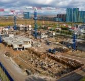 Ход строительства дома Подъезд № 1 в Smart комплекс Бульвар цветов -