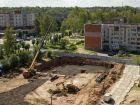 Ход строительства дома № 1 в ЖК Город чемпионов - фото 107, Август 2014