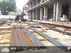 Ход строительства дома Литер 2 в ЖК Рубин - фото 18, Июнь 2020