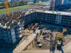 Ход строительства дома Литер 4 в ЖК Самолет 2 - фото 27, Октябрь 2020