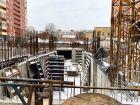ЖК Крепостной вал - ход строительства, фото 52, Февраль 2018