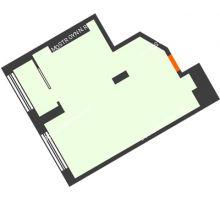 1 комнатная квартира 41,2 м² в ЖК АТЛАНТ СИТИ, дом №2 - планировка