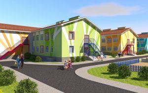 Второй детский сад в ЖК «Окский берег»