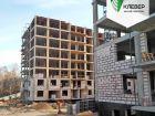 Ход строительства дома № 1 в ЖК Клевер - фото 95, Ноябрь 2018