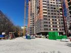 Ход строительства дома № 2 в ЖК Аврора - фото 11, Апрель 2020