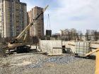 Ход строительства дома Литер 1 в ЖК Династия - фото 51, Апрель 2018